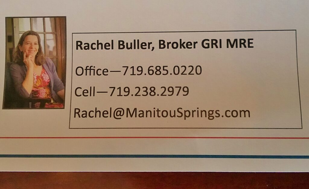 Rachel Buller Manitou Springs Real Estate