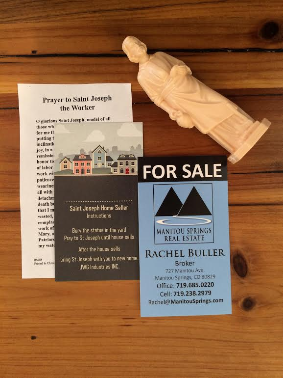 St Joseph statue to sell home